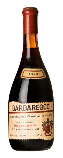 1976 Barbaresco Barone Stabilini