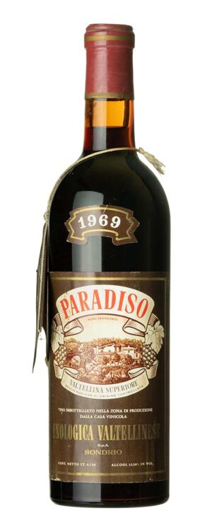 1969 Paradiso Enologica Valtellinese