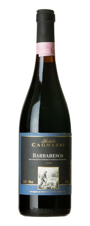 1998 Barbaresco Cagnassi
