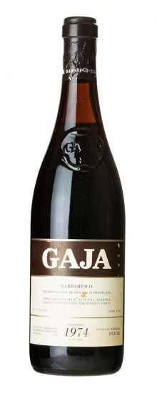 1974 Barbaresco Angelo Gaja