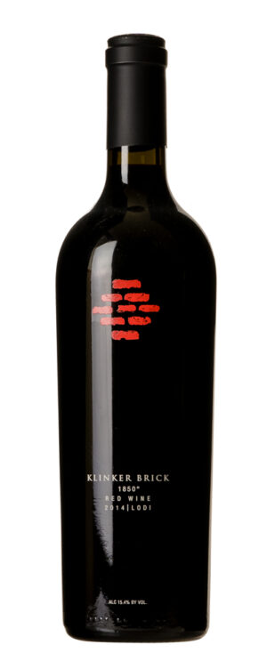 2014 Red Wine 1850 Klinker Brick Winery
